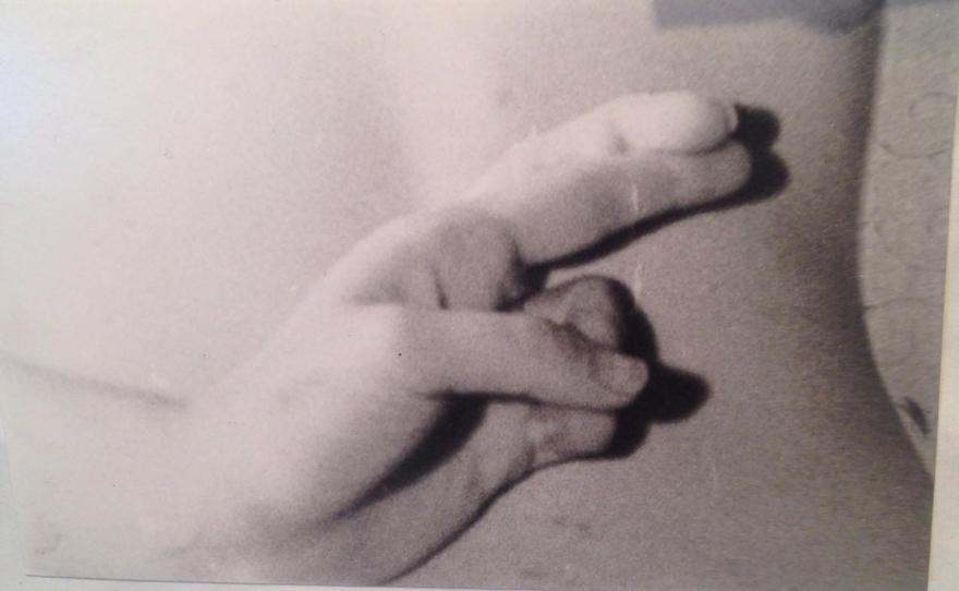 Untitled (Fingers Crossed)